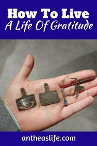 how to live a life of gratitude